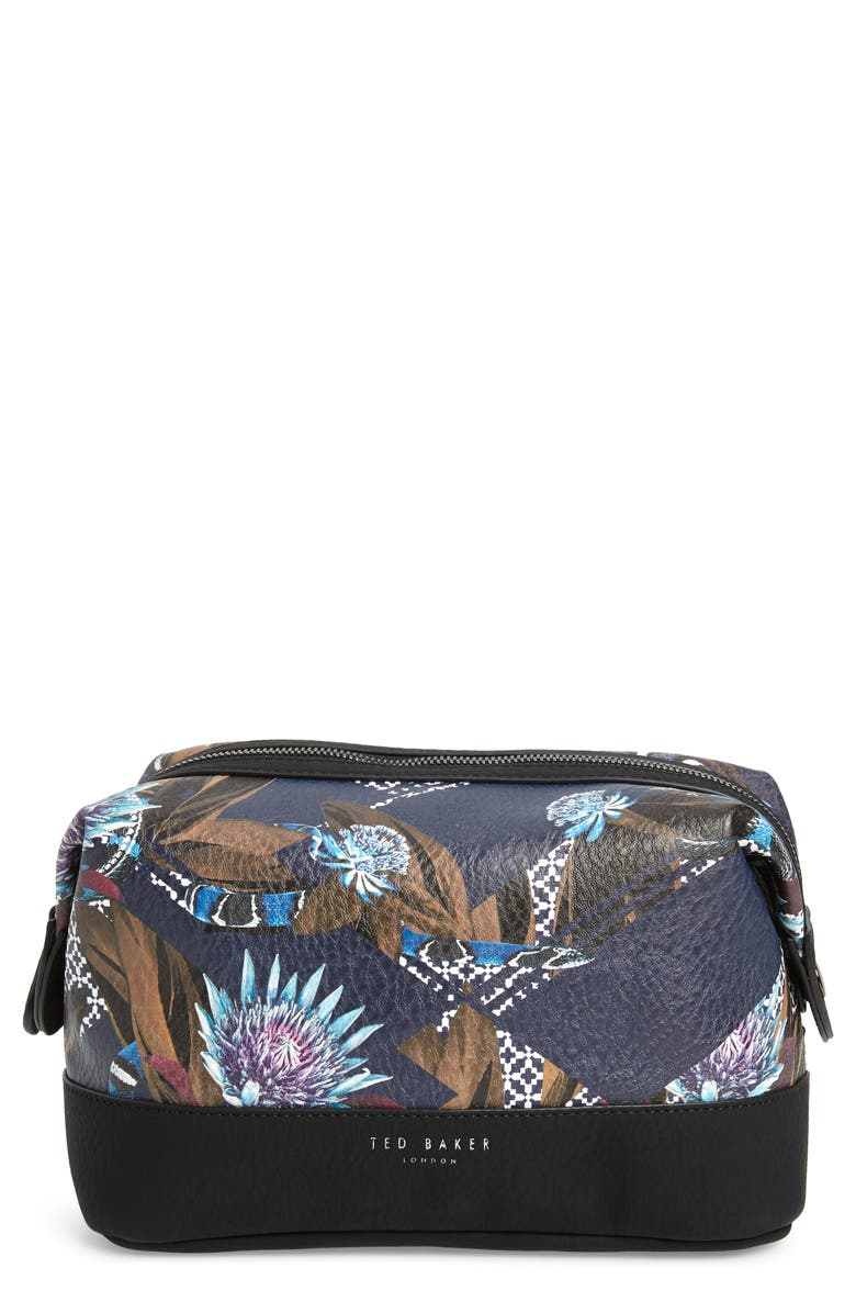 TED BAKER LONDON Print Travel Bag, Main, color, 410