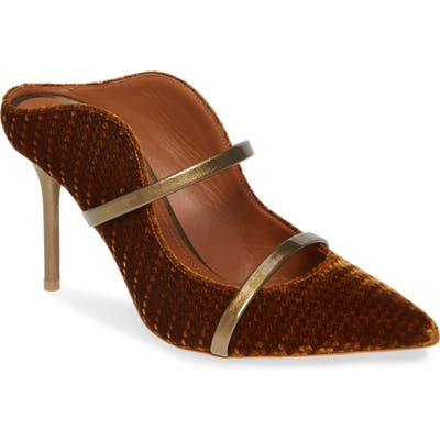 Malone Souliers Maureen Double Band Mule - Brown (Nordstrom Exclusive)