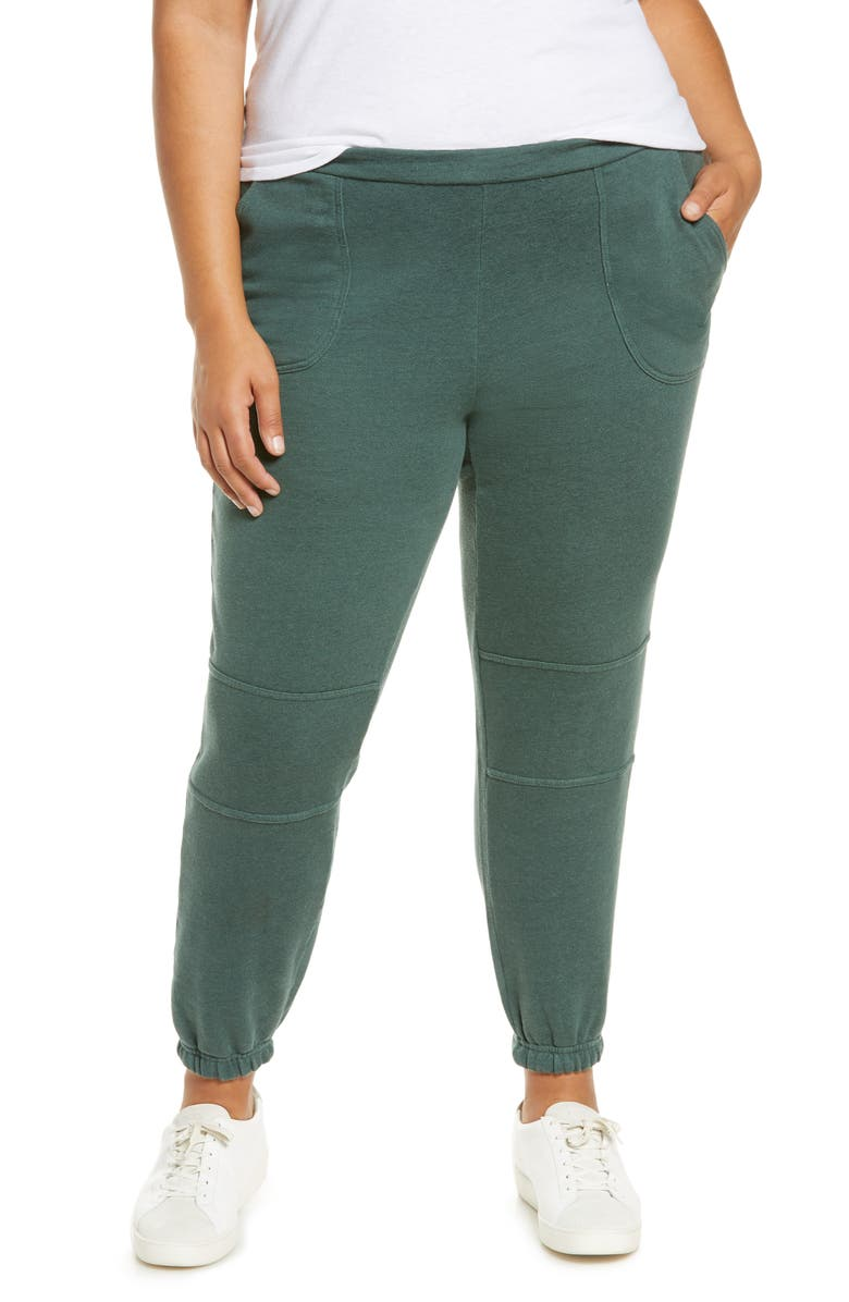 CHASER French Terry Joggers, Main, color, ASPEN