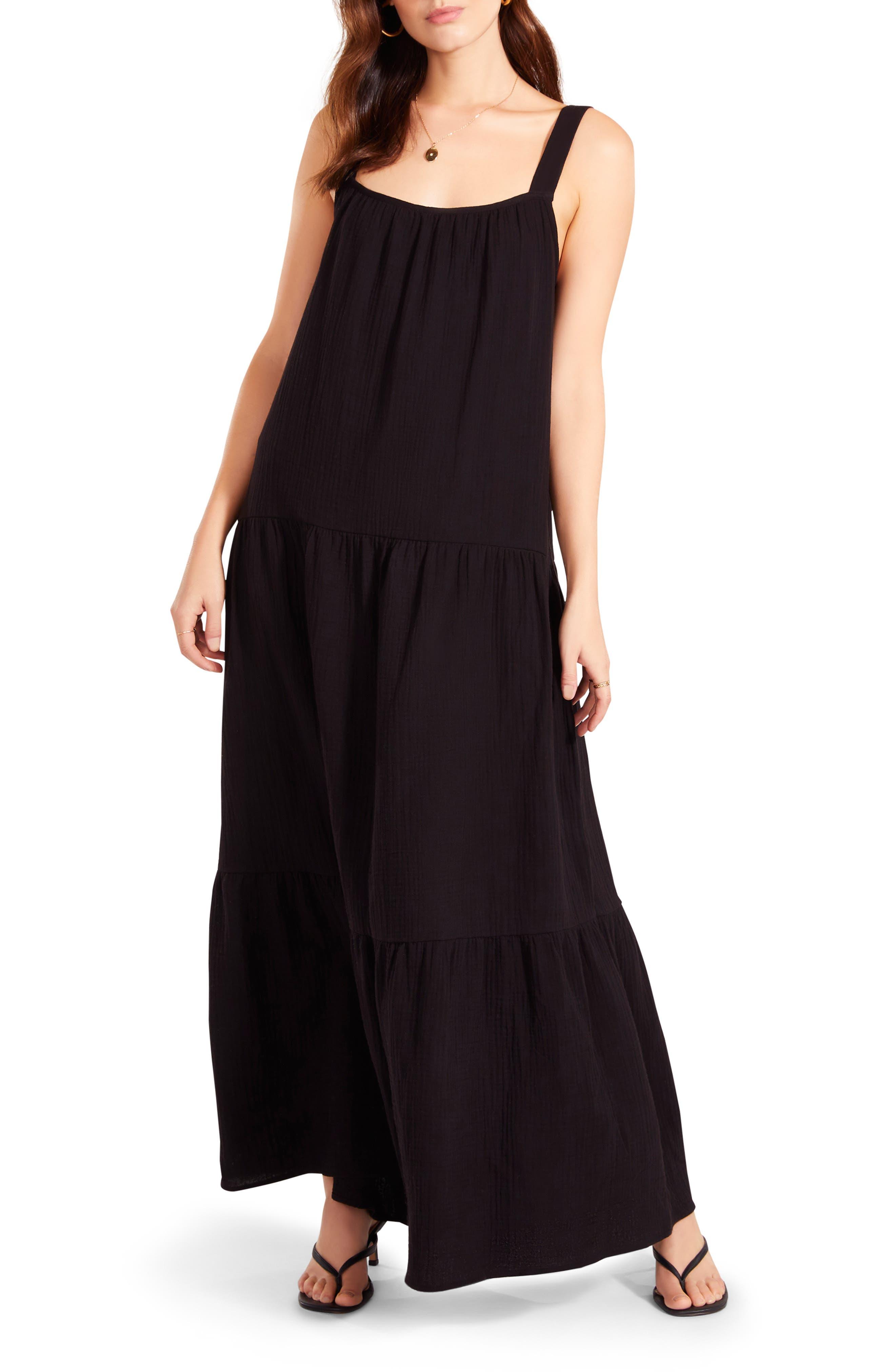 Image of BB Dakota Arianna Sleeveless Tiered Maxi Dress