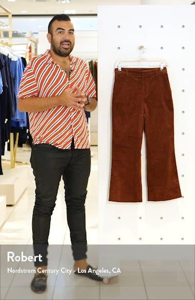 Jasper Crop Flare Corduroy Pants, sales video thumbnail
