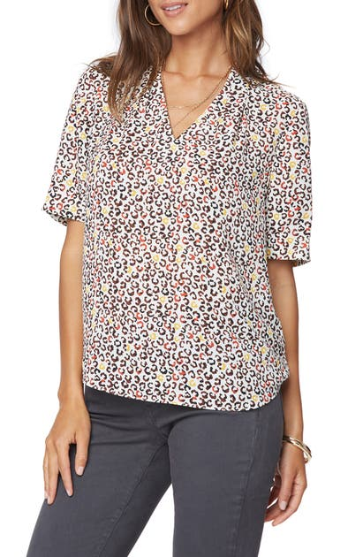 Nydj Tops CHARMING V-NECK TOP