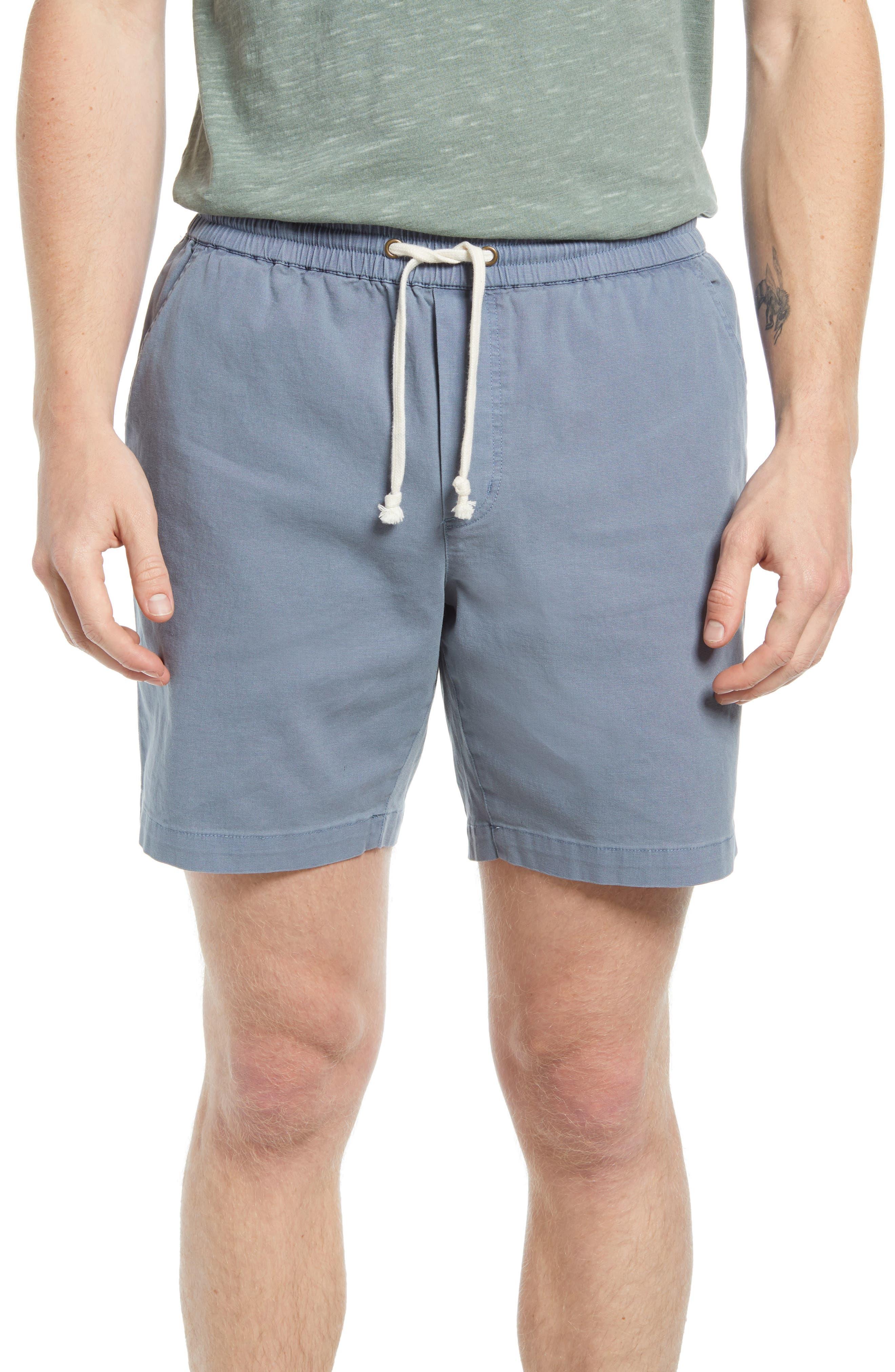 Saturday Twill Drawstring Shorts