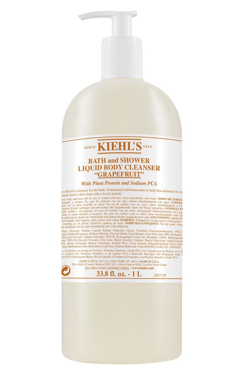 KIEHL'S SINCE 1851 Jumbo Grapefruit Bath & Shower Liquid Body Cleanser, Main, color, NO COLOR