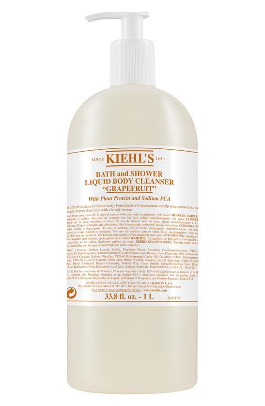 Kiehl's Since 1851 1851 Grapefruit Bath & Shower Liquid Body Cleanser, 33.8 oz In Bottle