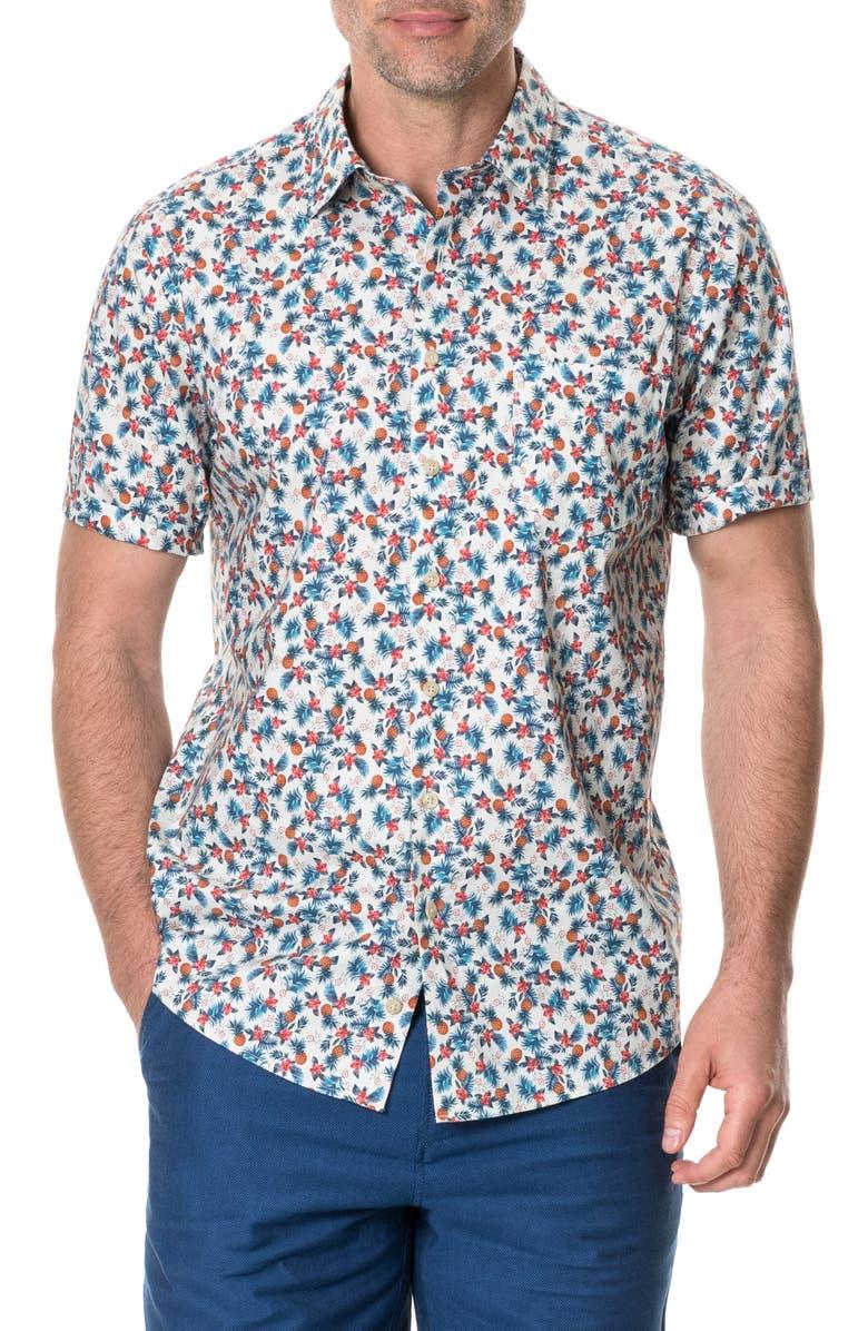 RODD & GUNN Kuri Bush Regular Fit Poplin Shirt, Main, color, 235