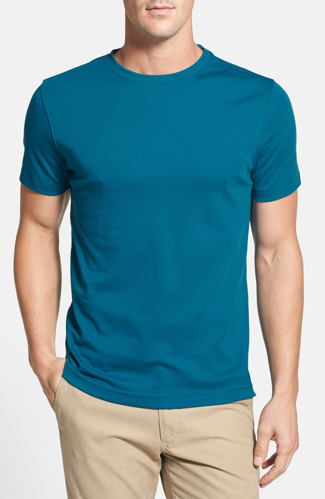 ,                             Georgia Crewneck T-Shirt,                             Main thumbnail 222, color,                             364