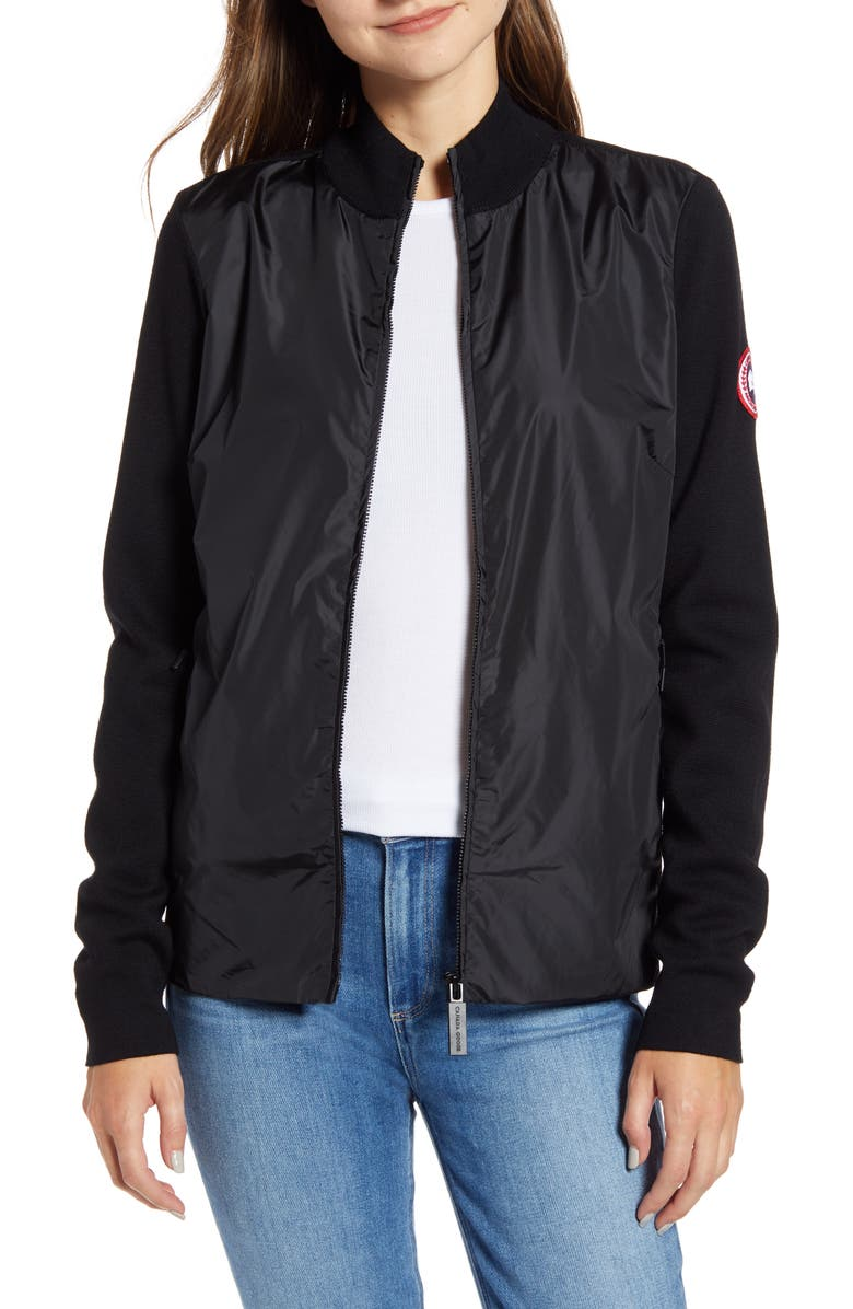 Women's WindBridge Full Zip Sweater Black Label | Canada Goose®