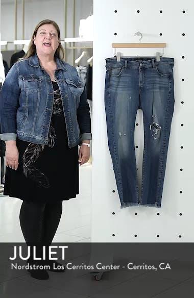 Lolita Straight Fray Hem Jeans, sales video thumbnail