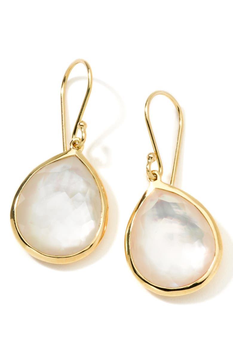 IPPOLITA Rock Candy Lollipop Teardrop Earrings, Main, color, GOLD