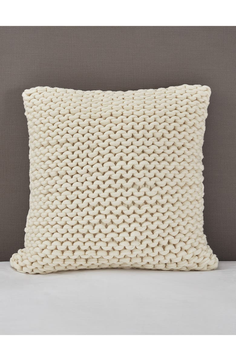 THE WHITE COMPANY Wilby Cushion Cover, Main, color, ALABASTER