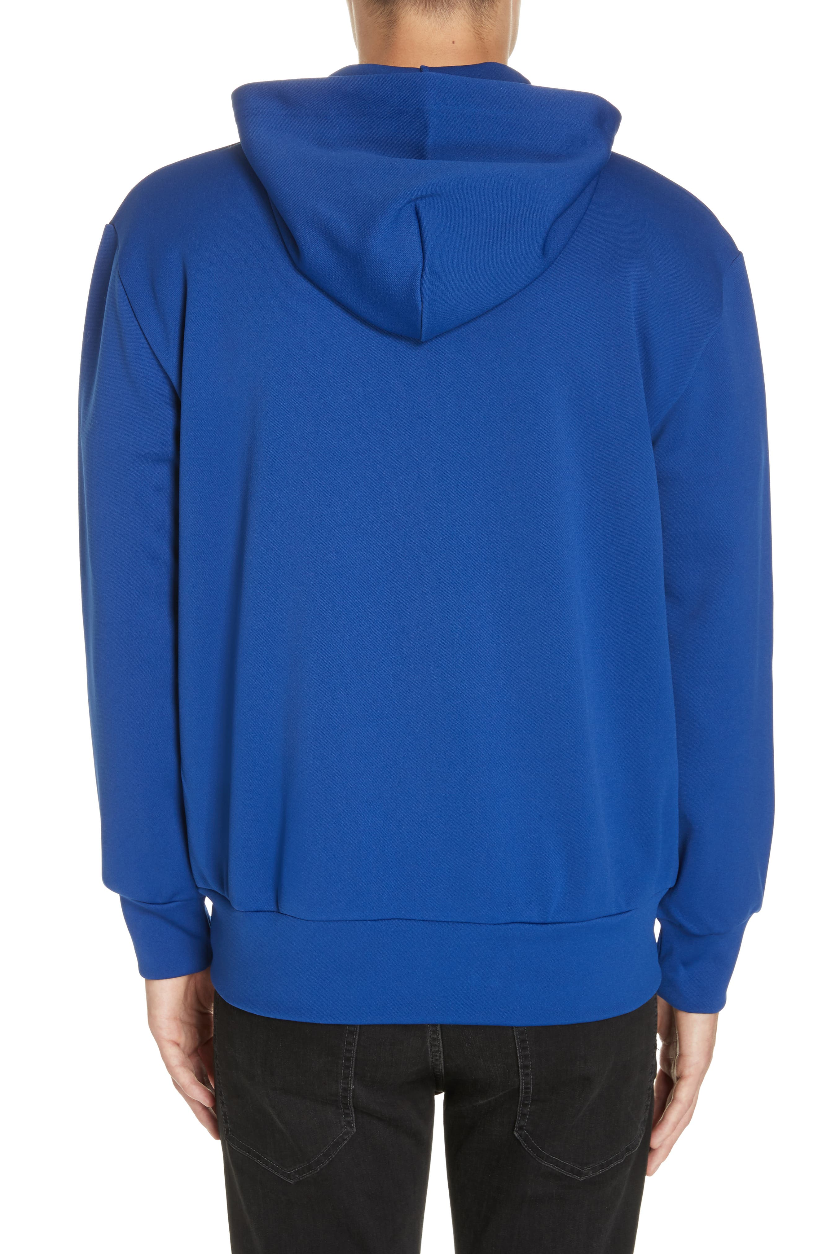 ,                             Zip-Up Hoodie,                             Alternate thumbnail 2, color,                             NAVY