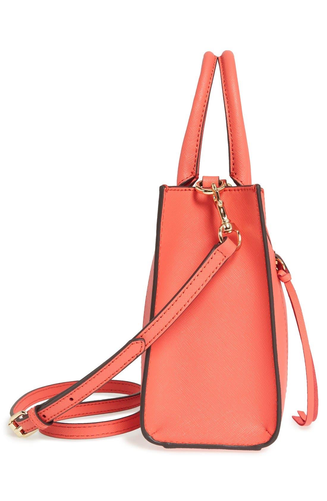 ,                             'Mini MAB Tote' Crossbody Bag,                             Alternate thumbnail 139, color,                             801