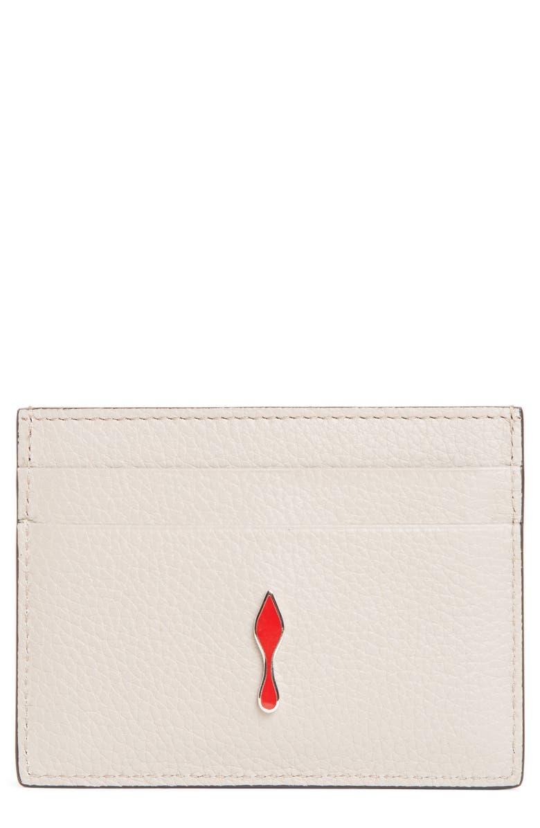Christian Louboutin Kios Leather Card Case