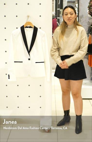 Cotton & Linen Tuxedo Blazer, sales video thumbnail