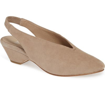 Eileen Fisher Gatwick Slingback Pump, Brown