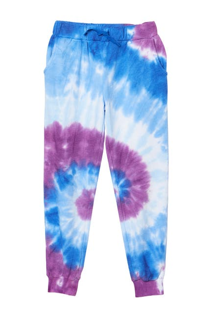 Image of Design History Tie Dye Print Jogger Pants
