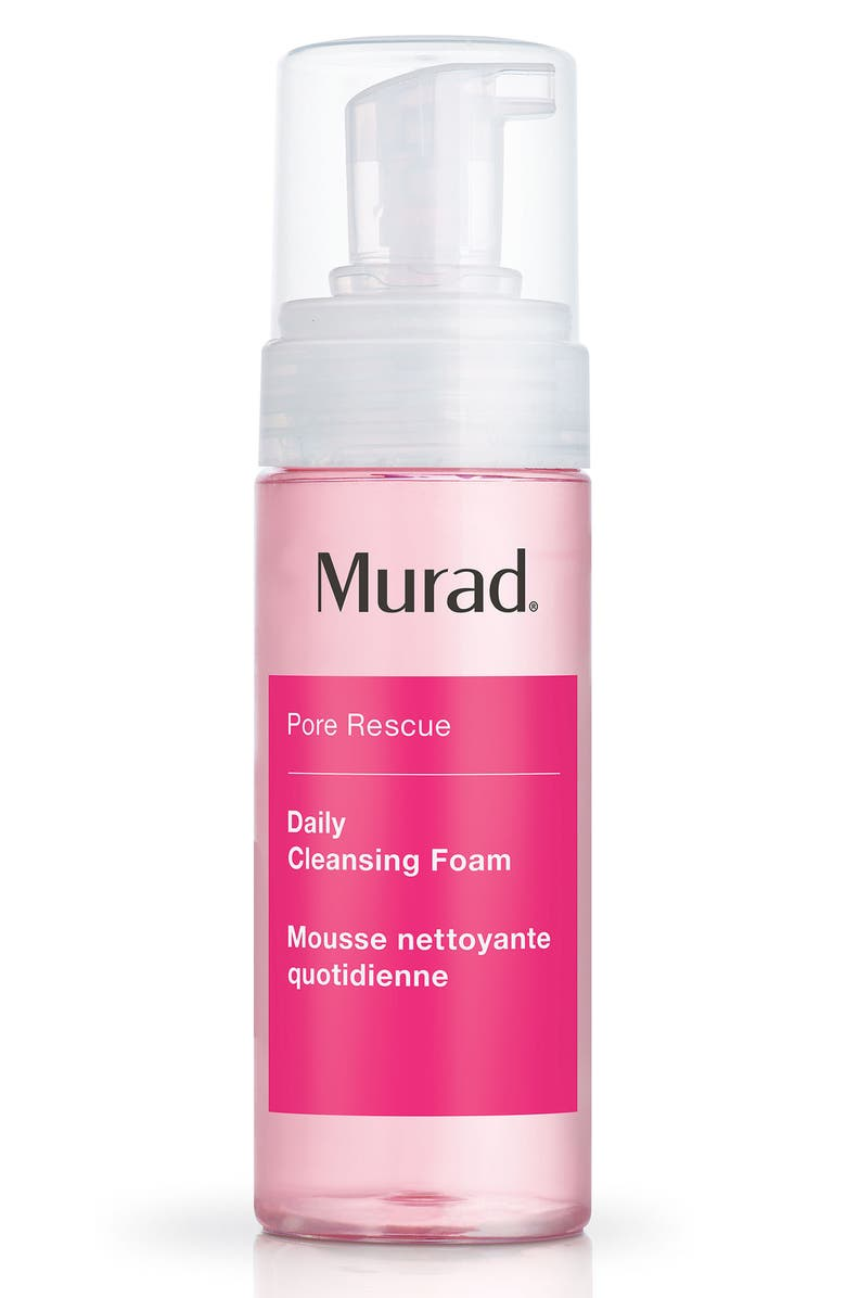 MURAD<SUP>®</SUP> Daily Cleansing Foam, Main, color, NO COLOR