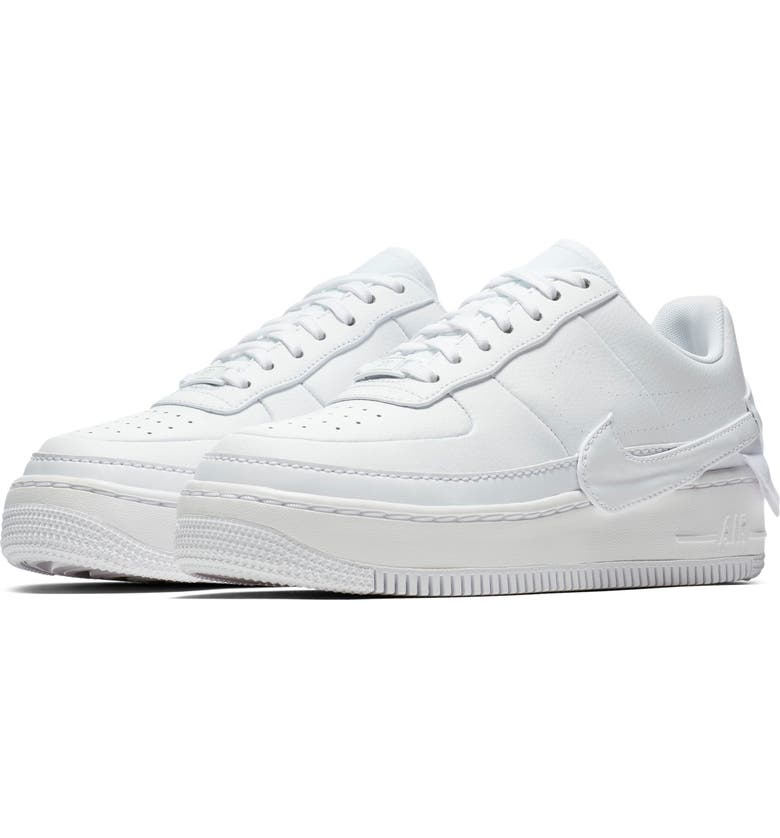 NIKE Air Force 1 Jester XX Sneaker, Main, color, WHITE/ WHITE-BLACK
