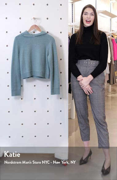 Boiled Cashmere Crop Hoodie, sales video thumbnail