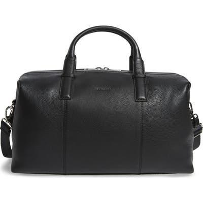Ted Baker London Bagtron Leather Duffle Bag - Black