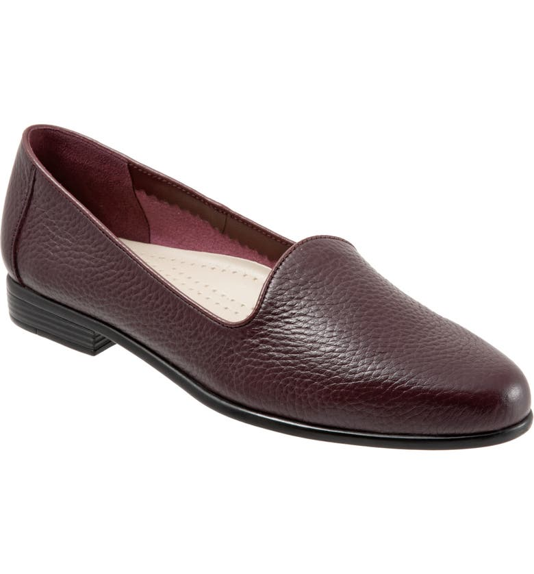 TROTTERS Liz Loafer, Main, color, BURGUNDY LEATHER