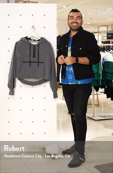 Packable Knit Crop Hoodie, sales video thumbnail