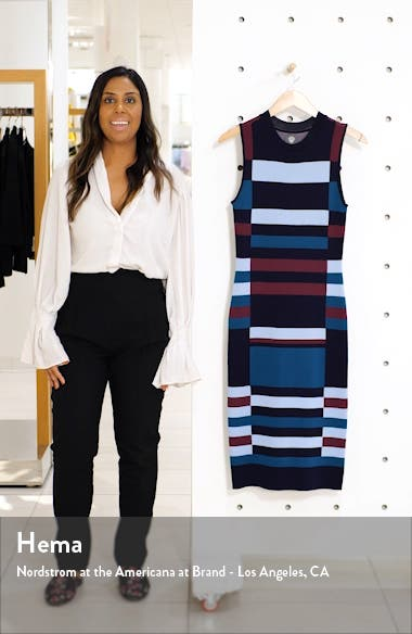 Colorblock Sweater Dress, sales video thumbnail