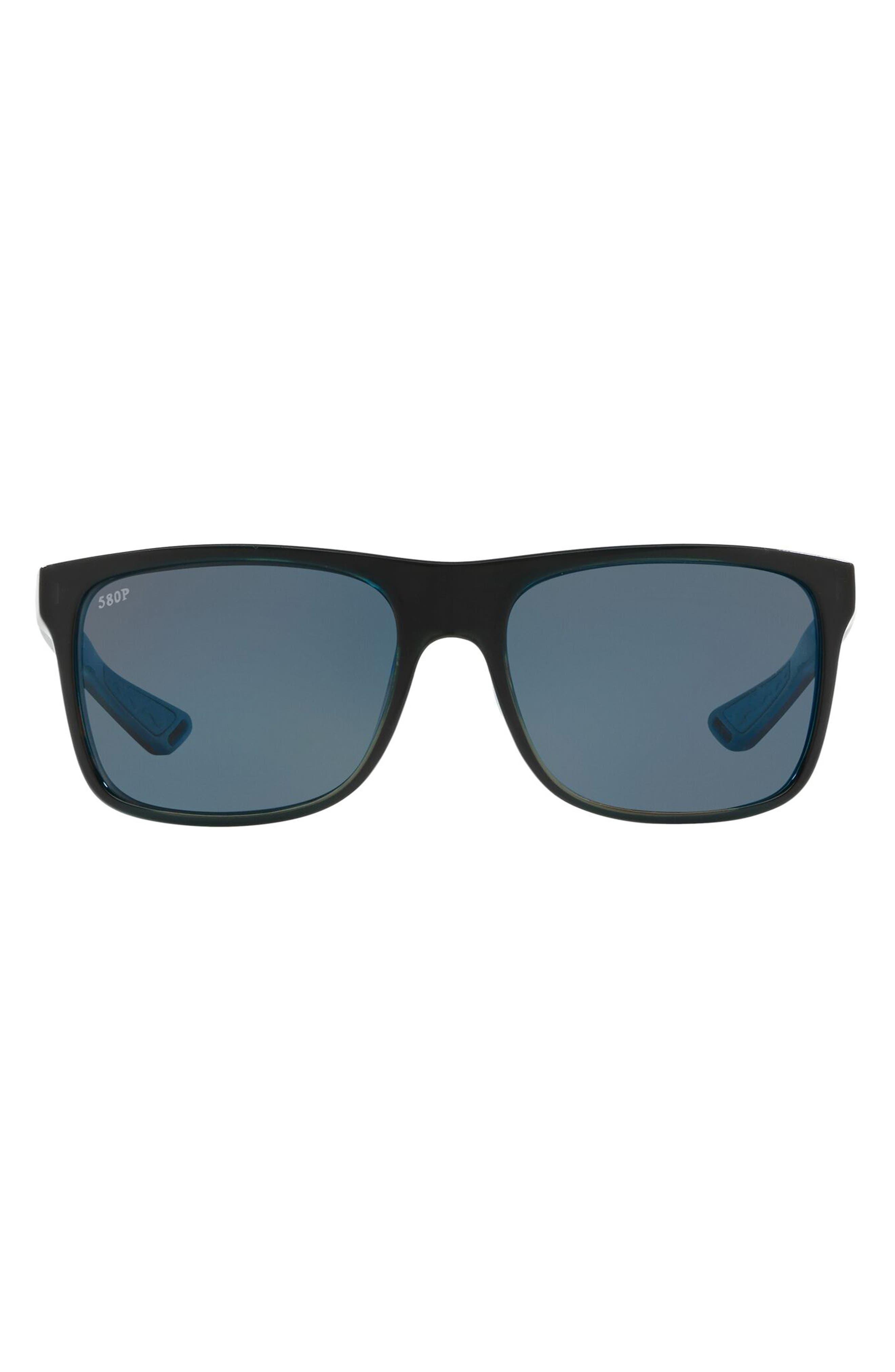 56mm Polarized Square Sunglasses