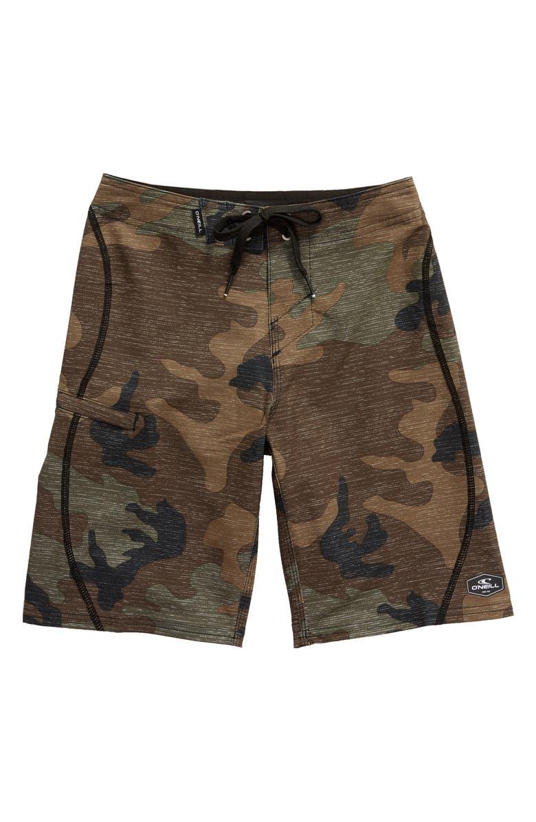 O'NEILL Hyperfreak S-Seam Hybrid Shorts, Main, color, 310