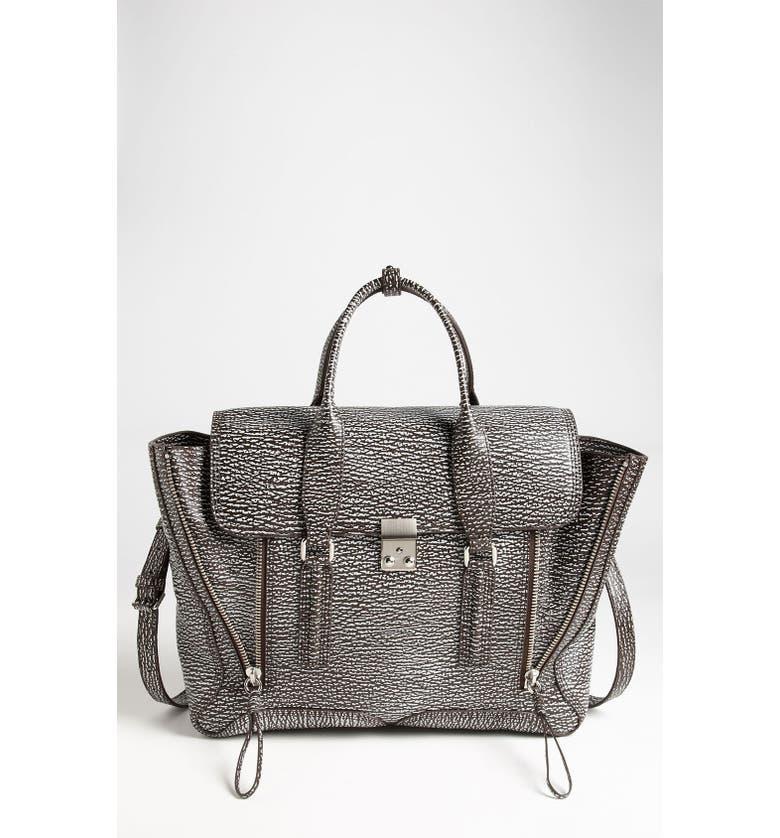 3.1 PHILLIP LIM 'Pashli' Leather Satchel, Main, color, 010