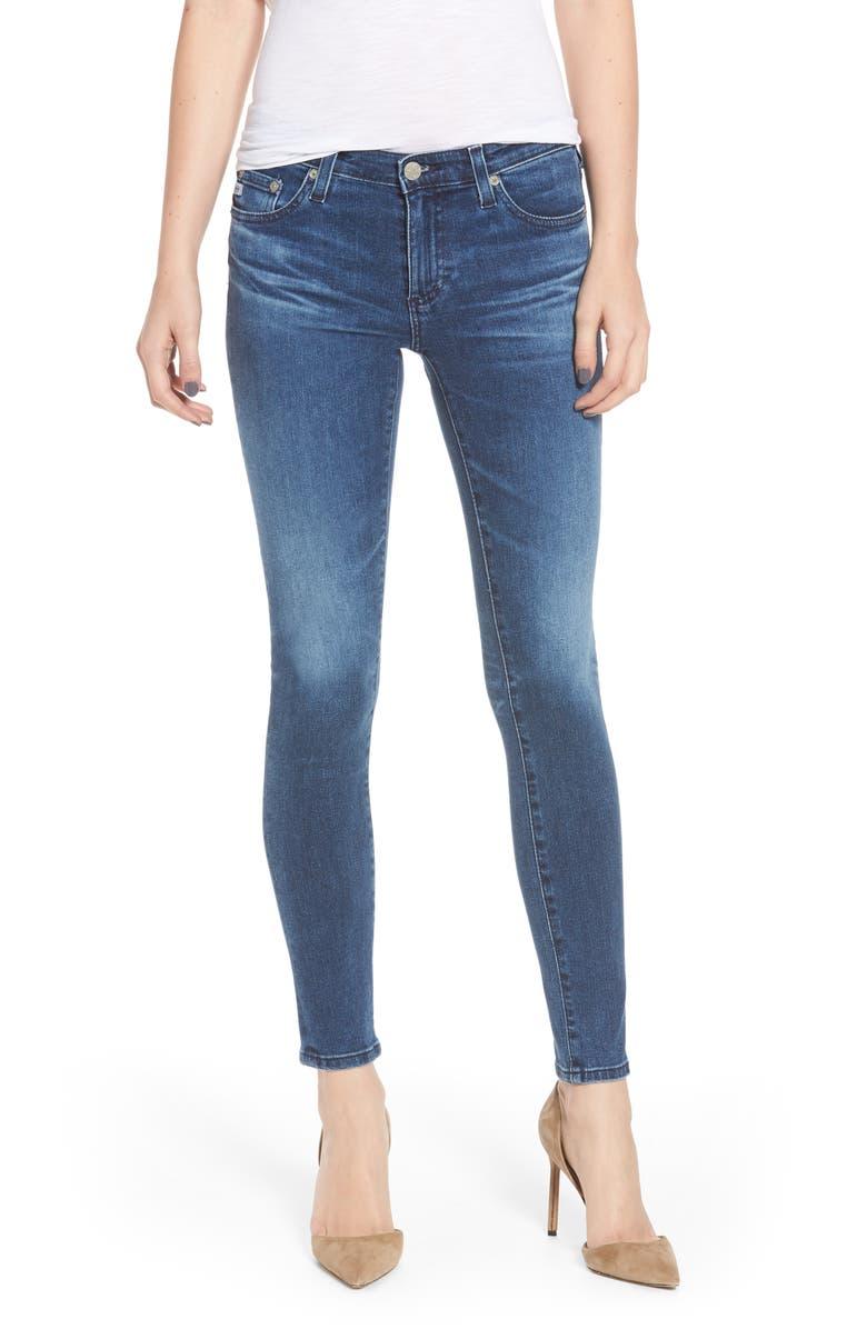 AG The Legging Ankle Super Skinny Jeans, Main, color, 401
