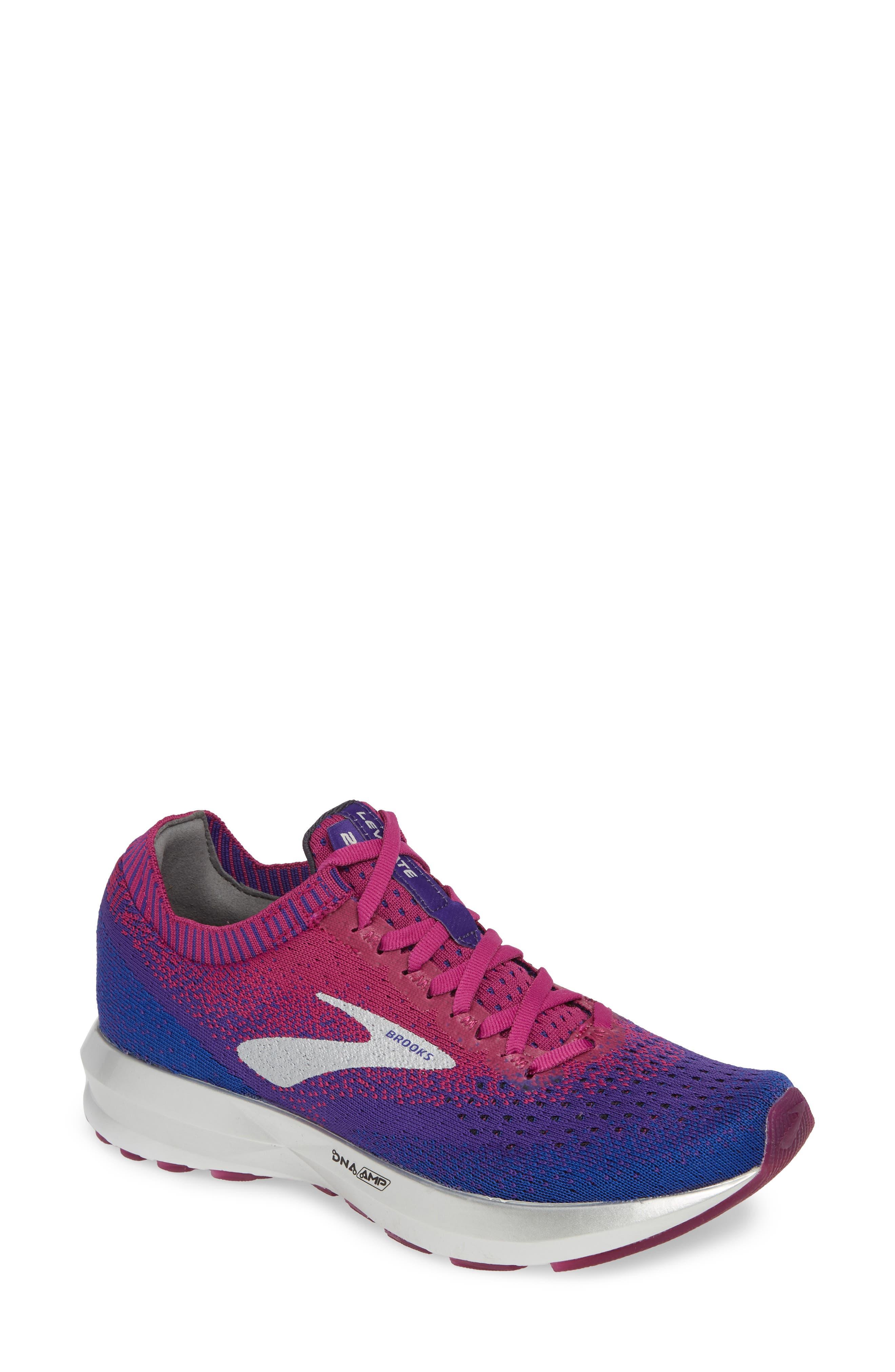 Brooks Levitate 2 Running Shoe, Purple