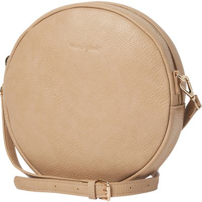 Urban Originals Cherry Love Vegan Leather Shoulder Bag - Beige