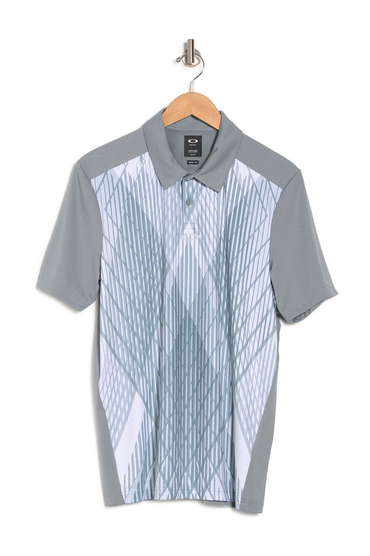 Image of Oakley Cross Graphic Polo