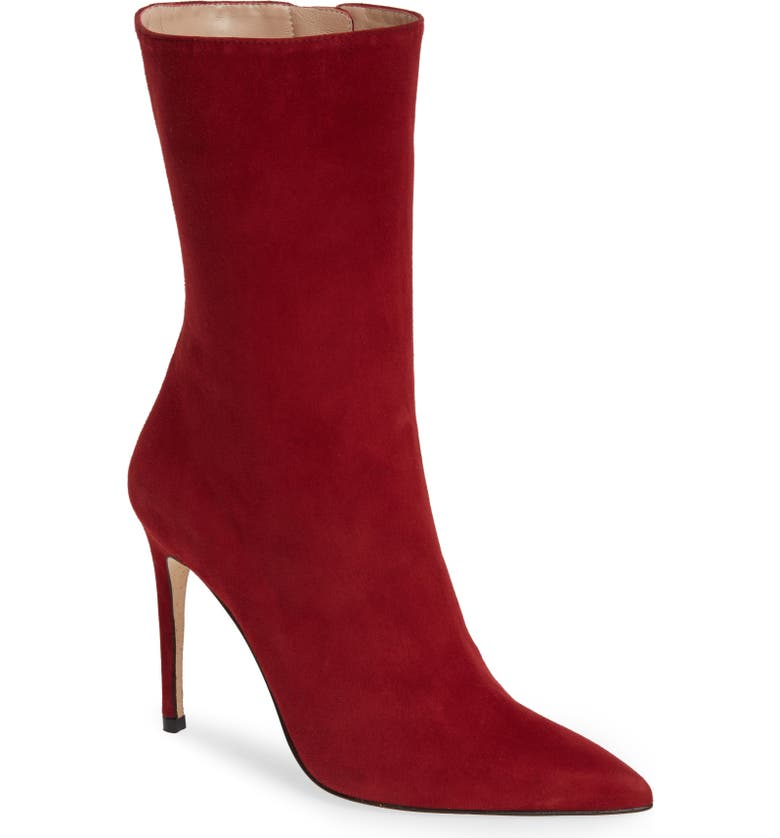 ALEXANDRE BIRMAN Cuba Boot, Main, color, SCARLET SUEDE