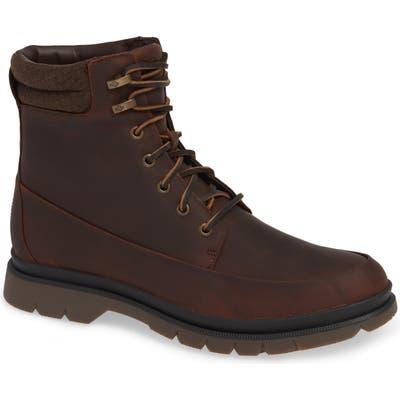 Sperry Watertown Waterproof Moc Toe Boot, Brown