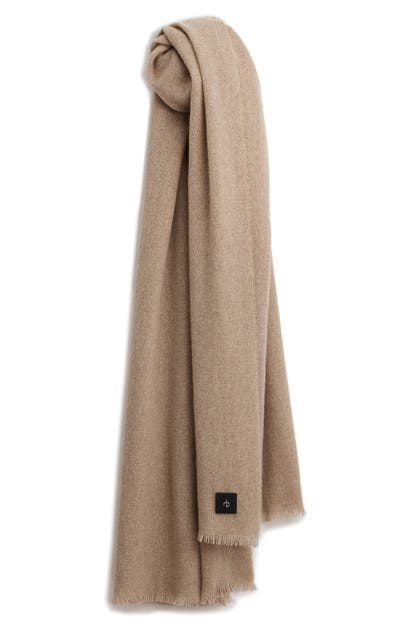 Rag & Bone RAG AND BONE RILEY CASHMERE & WOOL SCARF