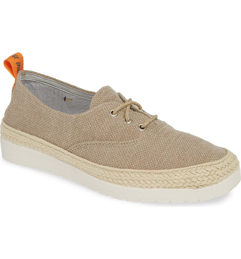 TONI PONS Bego Espadrille Sneaker, Main, color, STONE CANVAS