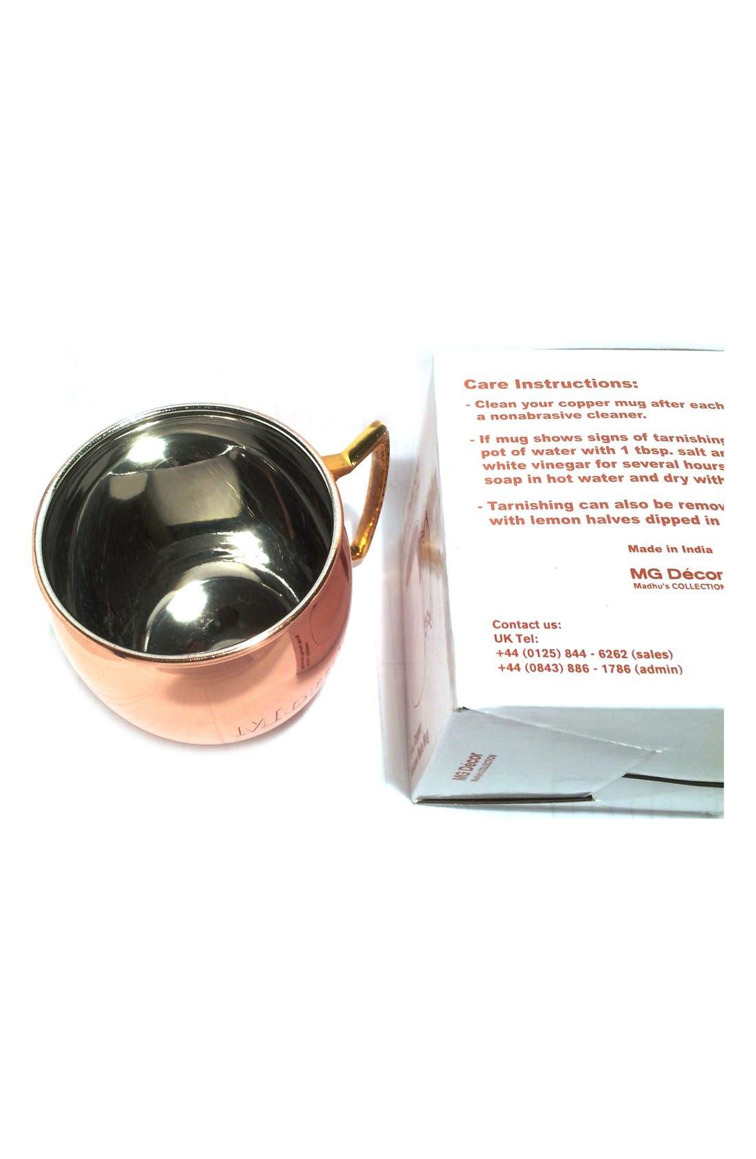 ,                             'Mom's' Copper Mug,                             Alternate thumbnail 5, color,                             220