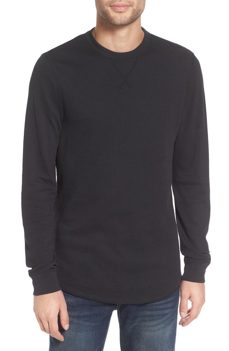 THE RAIL Thermal Long Sleeve T-Shirt, Main, color, 001