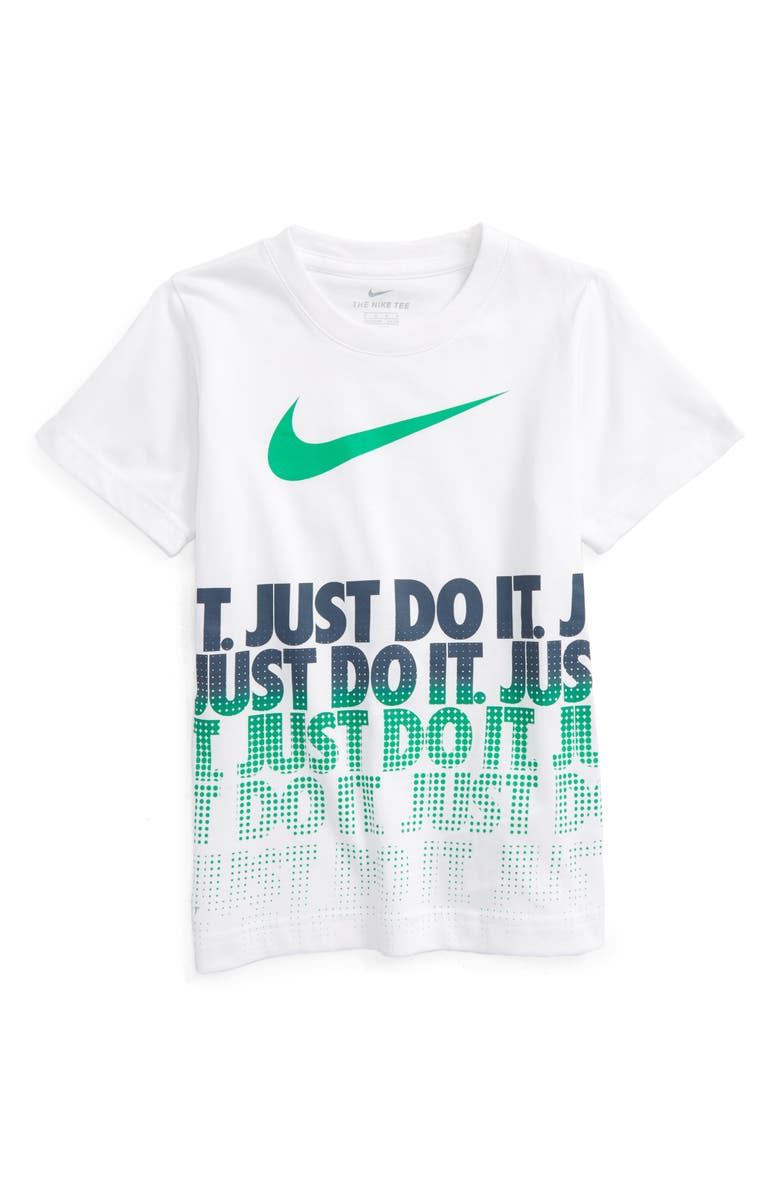 NIKE Just Do It Graphic Dri-FIT T-Shirt, Main, color, 100