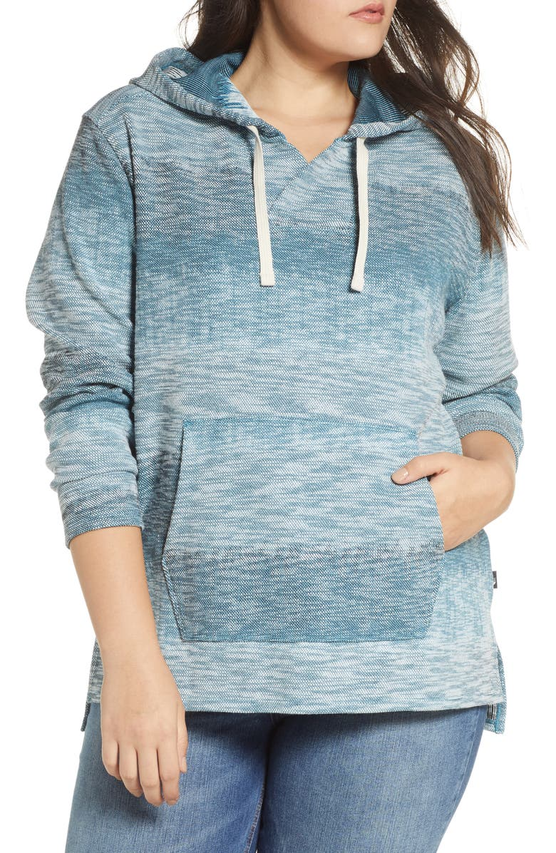 THE NORTH FACE Wells Cove Hoodie Pullover, Main, color, STORM BLUE HEATHER
