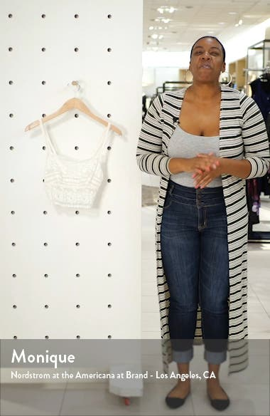 x Lindsi Lane Beach Mode Crop Lace Camisole, sales video thumbnail