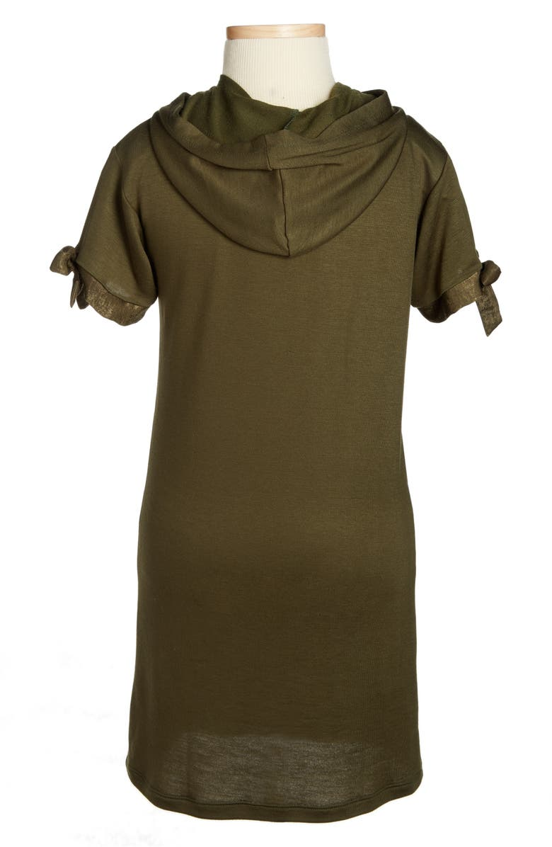 H.I.P. Hooded Shift Dress, Main, color, 302