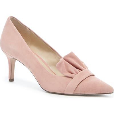 Sole Society Darbia Ruffle Pointy Toe Pump, Pink