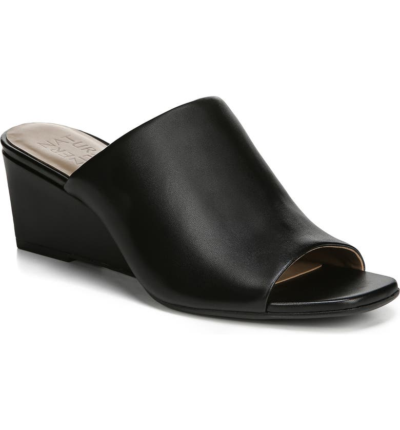 NATURALIZER Zaya Wedge Slide Sandal, Main, color, 001