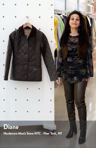 Huddleson Plaid Quilted Jacket, sales video thumbnail