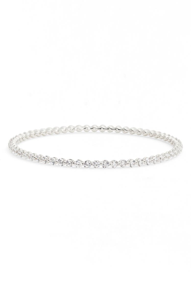 NADRI Cushion Eternity Bangle, Main, color, 040
