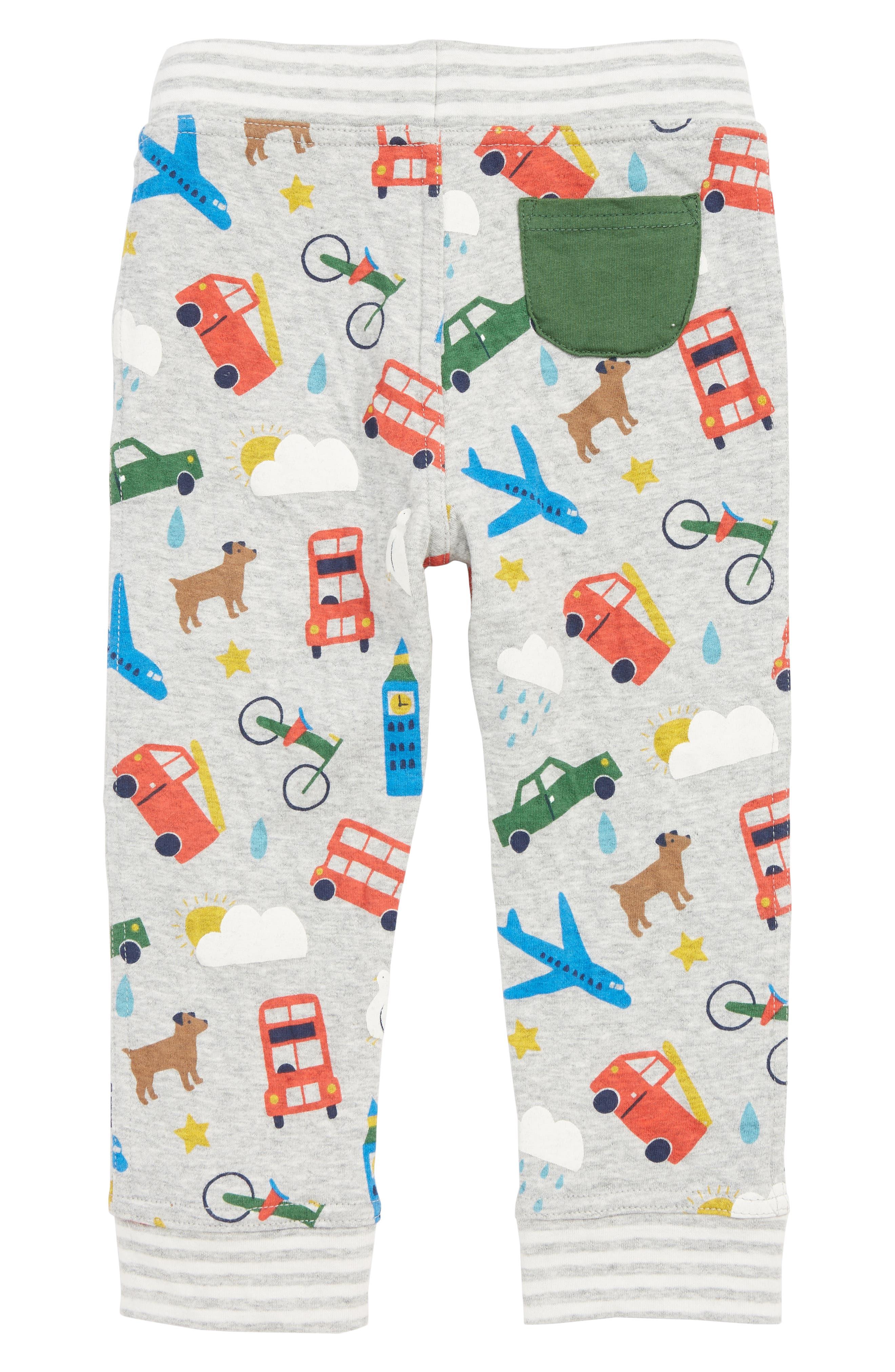 ,                             Fun Reversible Pants,                             Alternate thumbnail 3, color,                             GRY GREY MARL LONDON BUSTLE